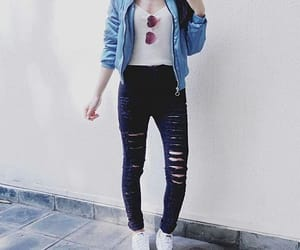blusa, negro, and outfit image