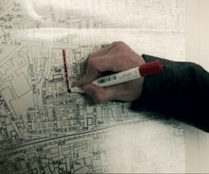 blueprints, markers, and derry image