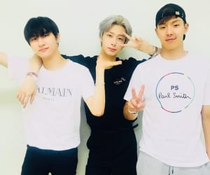 monsta x, hyungwon, and shownu image