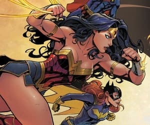 dc comics, superman, and wonder woman image