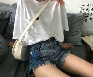 accessories, korean girls, and outfit image