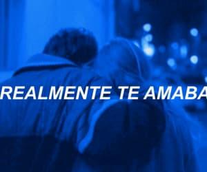 blue and español image