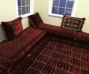 afghan, carpet, and central asian image