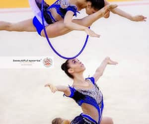 rhythmic gymnastics, hoop, and italy image