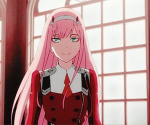 anime, gif, and darling in the franxx image