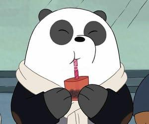 panda, wallpaper, and we bare bears image