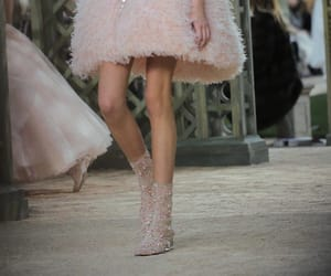 backstage, chanel, and Couture image
