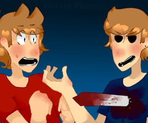 blood, Tom, and tord image