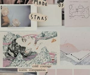 Collage and wallpaper image
