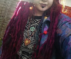 body modification, dreads, and nostrils image