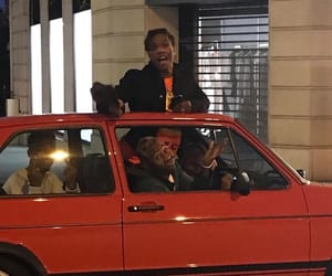 asap rocky, tyler the creator, and red image