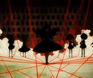 anime girl, dark, and madoka magica image