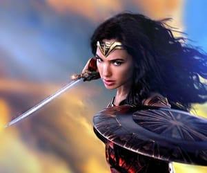 wonder woman, diana of themyscira, and gal gadot image