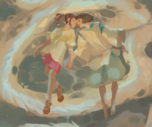 art, spirited away, and Ilustration image