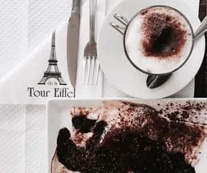 food, paris, and coffee image