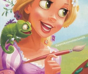 disney, disneyprincess, and rapunzel image