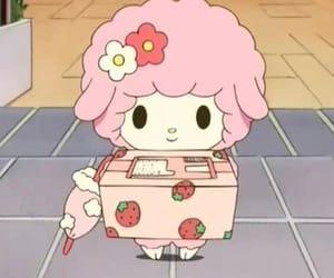 pink, anime, and sanrio image