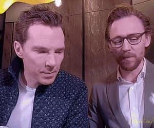 gif, tom hiddleston, and benedict cumberbatch image