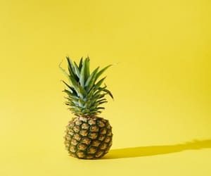 aesthetic, pineapple, and yellow image