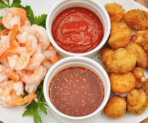 food and shrimp image