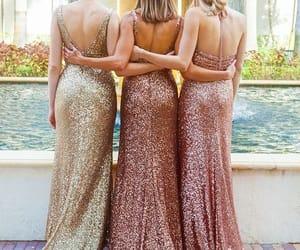 dress, girl, and glitter dress image