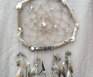 dreamcatcher, feather, and natural image