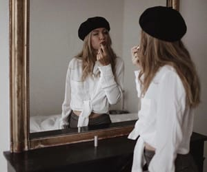 beauty, hat, and fashion image