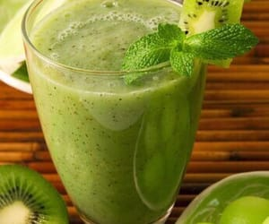 kiwi, fruit, and green image
