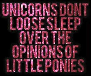 unicorn and quotes image
