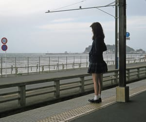 cool japan, enoden, and cloudy image