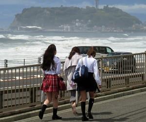 enoshima, kanagawa, and high school image