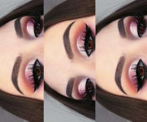 eyeshadow, fashion, and girl image