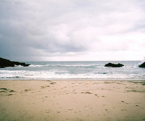 photography, beach, and landscape image