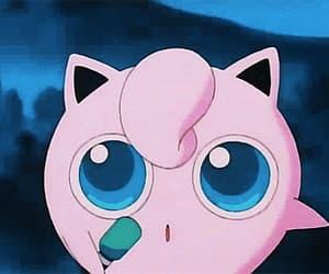 gif, jigglypuff, and pink image