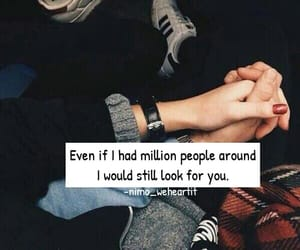 cute couples, holding hands, and I Love You image