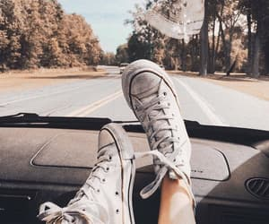 adventure, car, and converse image