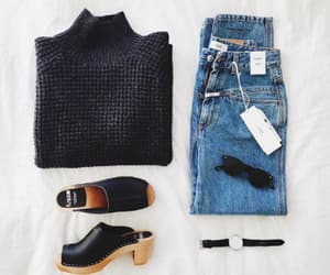 fashion, jeans, and sunglasses image