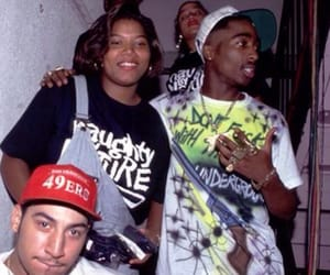 tupac, 2pac, and queen latifah image