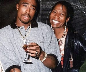 2pac, mama, and shakur image