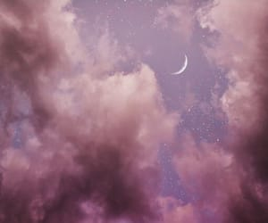 cloud, clouds, and pink image