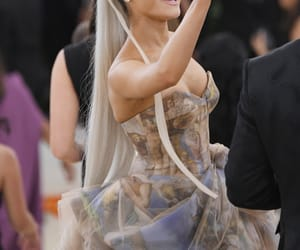 ariana grande, icon, and met gala image