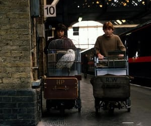 harry potter, ron weasley, and hogwarts image