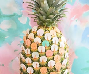 artsy, background, and pineapple image
