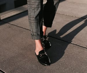 fashion, girl, and loafers image