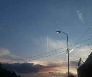 amazing, blue, and sunset image