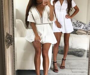 best friend, dress, and fashion image