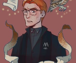 harry potter, percy, and weasley image