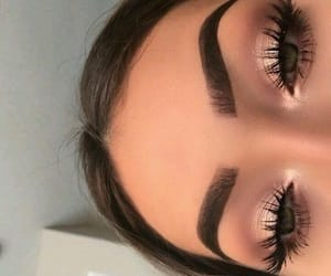 eye makeup, eyebrow, and makeup image