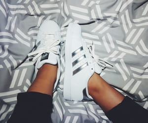 adidas, adidassuperstar, and silver image