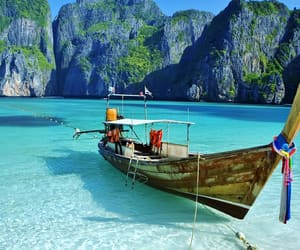 beach, summer, and thailand image